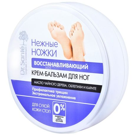 Dr. Sante, 100 ml, foot cream balm, Regenerating, Gentle legs