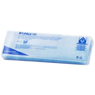 Kimberly-Clark, 25 шт., салфетки для протирания, Wypall, Синий, м/у
