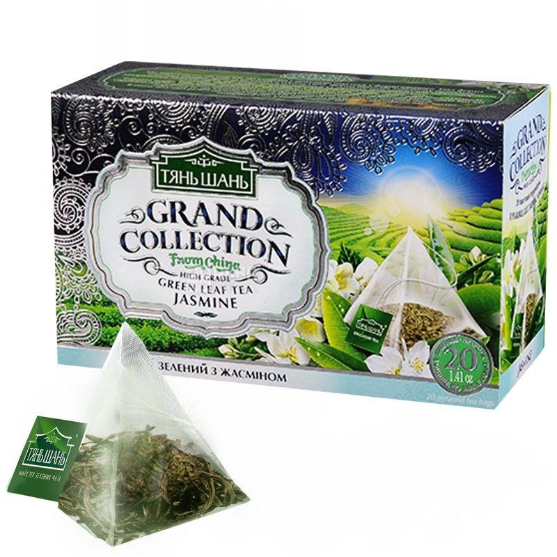 Тянь Шань, 20 шт., чай, зеленый, с жасмином