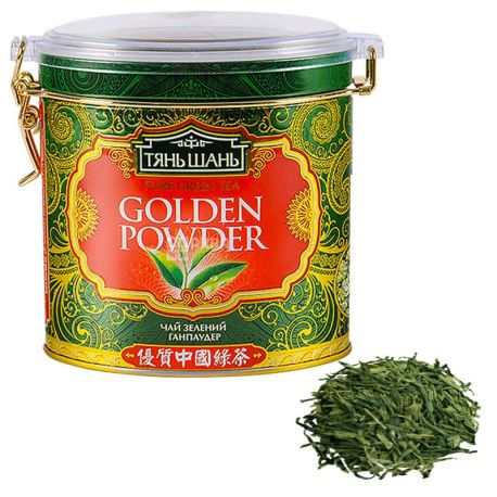 Tien Shan, 100 g, Green tea, Handpowder, w / w