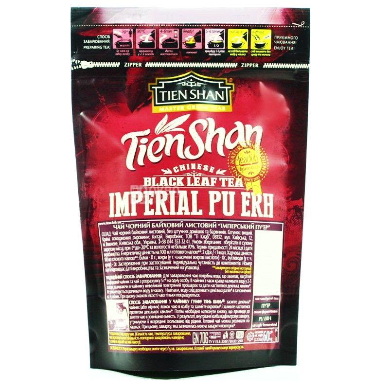 Tian Shan, 60 g, tea, black, Imperial Pu-erh