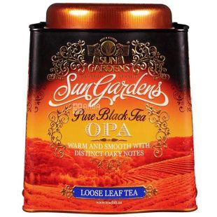 Sun Gardens, 150 g, tea, black, OPA, iron can