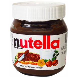 Nutella, 180 g, nut paste, with cocoa