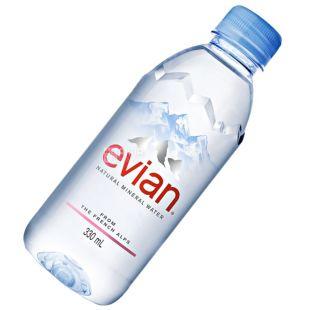 Evian, 0,33 л, Вода негазированная, Минеральная, ПЭТ